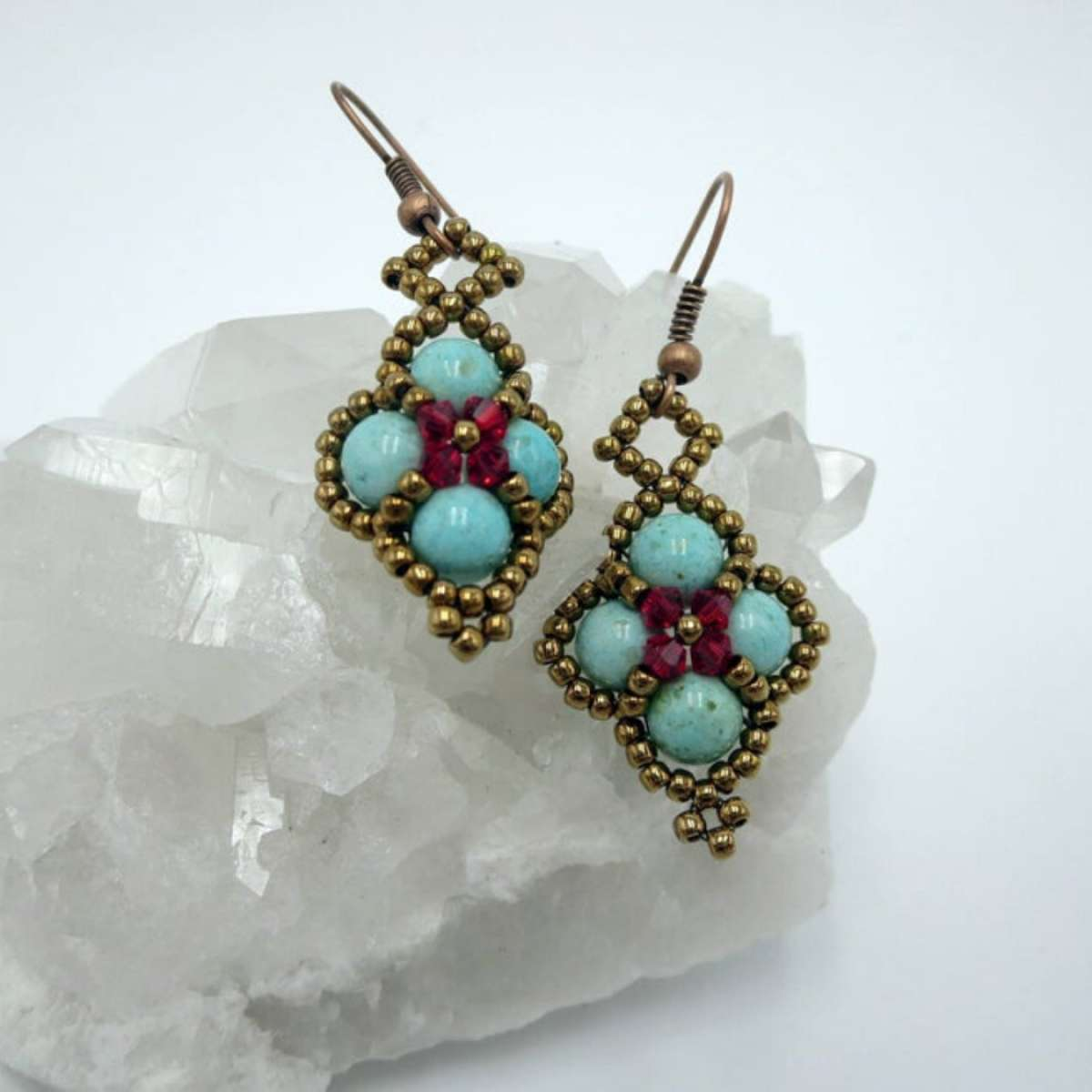 These handmade earrings by Jewels for Hope were featured on the show