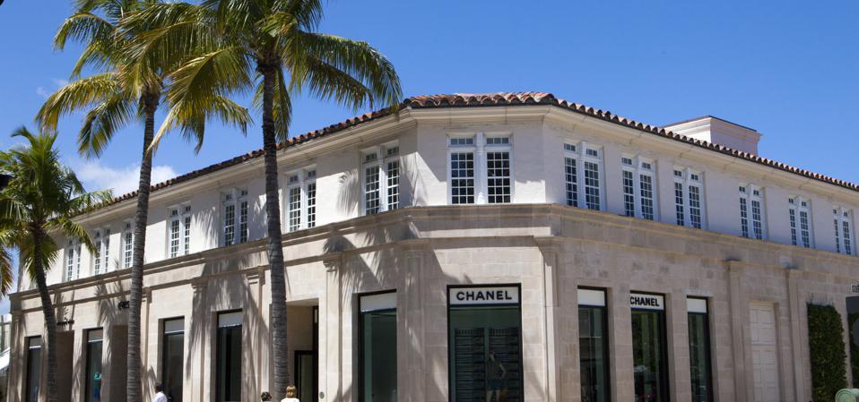 Worth Avenue in Palm Beach.