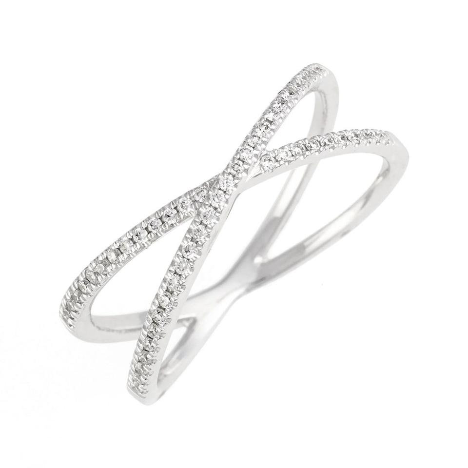 Bony Levy Stackable Crossover Diamond Ring