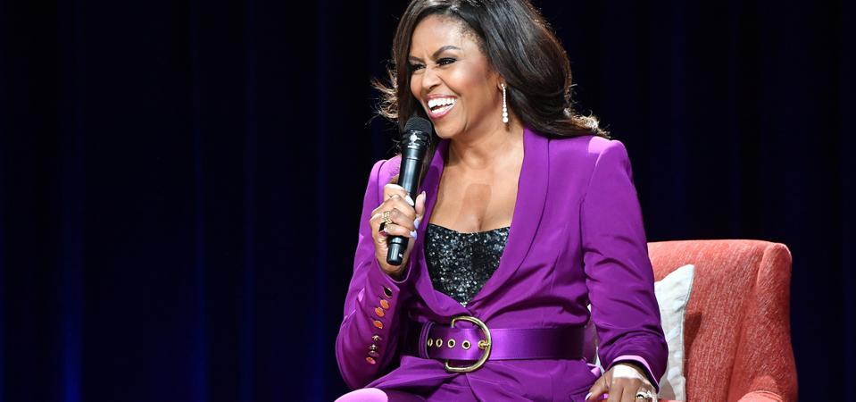 Michelle Obama in Atlanta for her ″Becoming″ book tour.