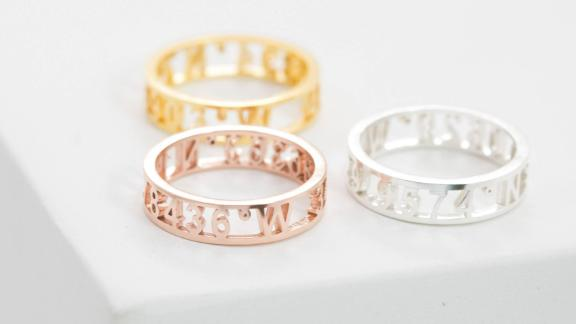 Caitlyn Minimalist Coordinates Ring