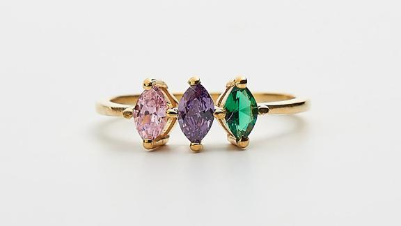Shine By Liz Birthstone Ring