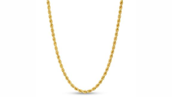 Piercing Pagoda Rope Chain Necklace