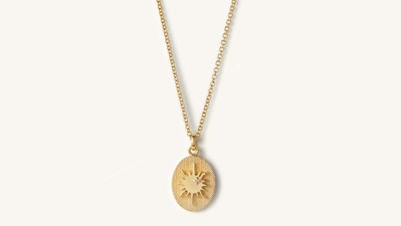 Mejuri Tarot Sun Necklace
