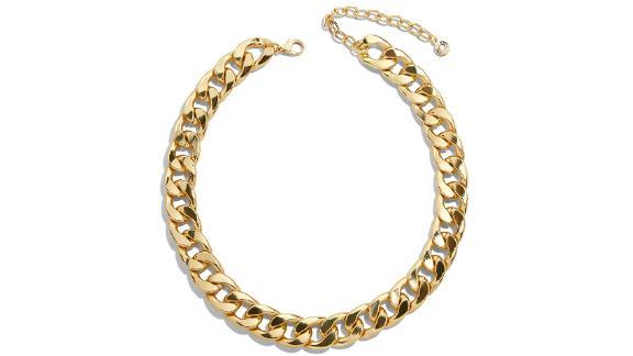 Baublebar Michaela Curb Chain Collar Necklace