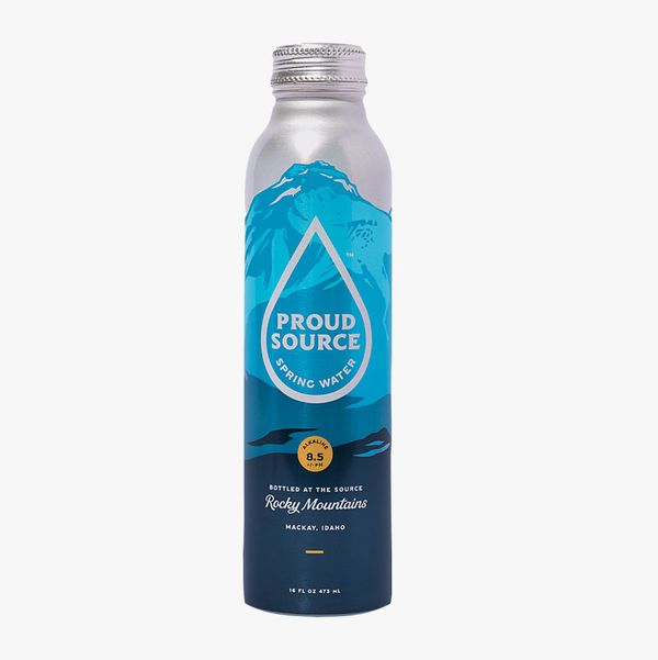 Proud Source Naturally Alkaline Rocky Mountain Spring Water