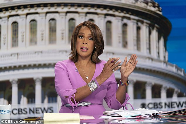 Shared: News anchor King announced her happy news on CBS This Morning and in an interview with Oprah Winfrey Magazine. She also posted wedding photos to Instagram