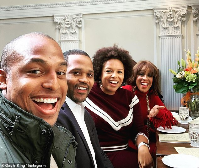 Family: Kirby, 32, married Virgil Miller to whom she got engaged in February 2019. The couple are pictured with King and Kirby's brother Will, who officiated at the ceremony