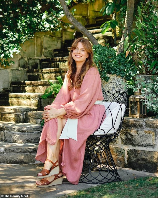 Carla (pictured) healed her own family's skin issues and discovered that beautiful glowing skin begins with a healthy gut