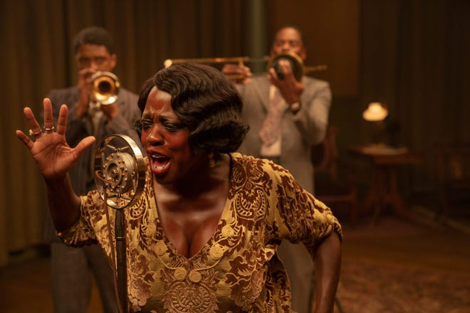 """Viola Davis garnered a Golden Globes nomination for her portrayal of 1920s jazz singer Ma Rainey in the Pittsburgh-made """"Ma Rainey's Black Bottom."""""""