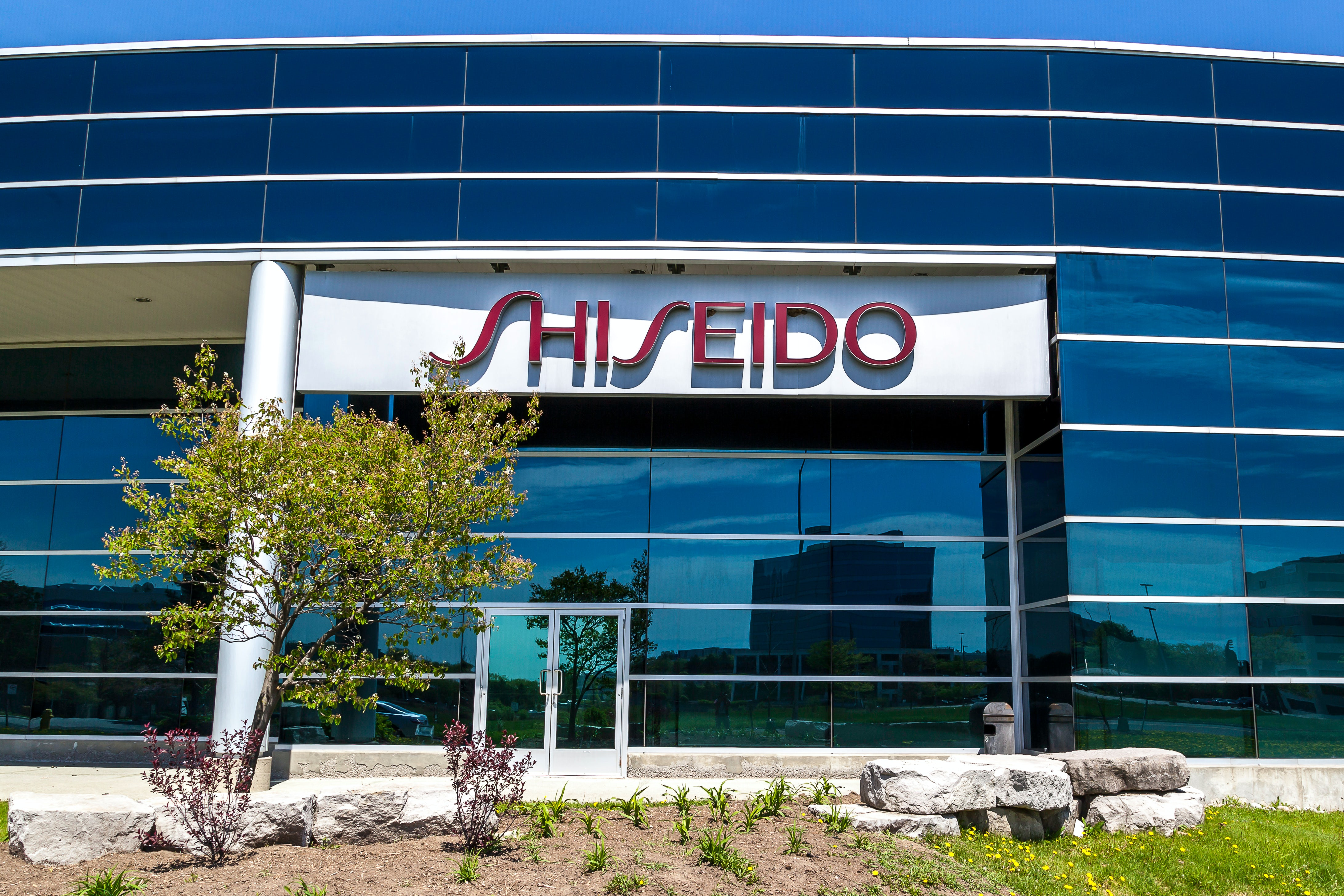 Shiseido office in Markham, Ontario. Shutterstock.