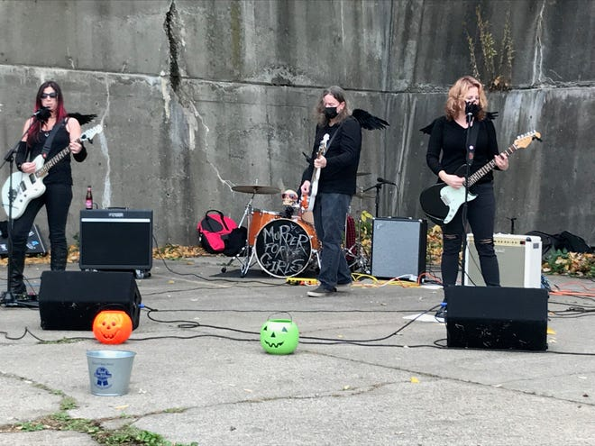 Murder For Girls, seen here at last year's Halloween performance in Rochester, will stream a live performance Feb. 18 as part of the Save Our Stages initiative.