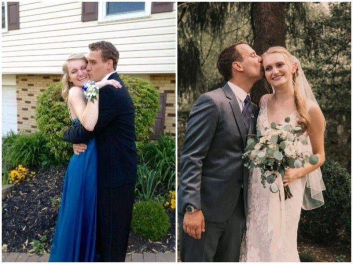 prom vs wedding taylor and rob