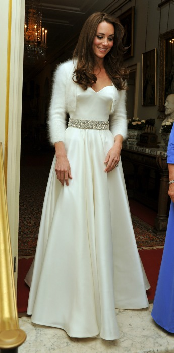kate middleton second wedding dress z