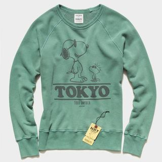 Todd Snyder x Peanuts City Collection Tokyo Sweatshirt