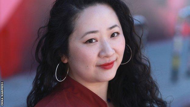 Director, Yu Gu, headshot.