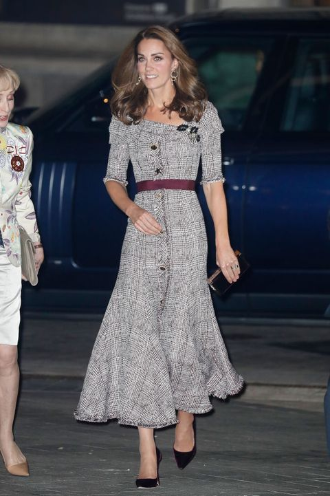 london, england   october 10  catherine, duchess of cambridge attends the opening of the va photography centre at victoria  albert museum on october 10, 2018 in london, england  the duchess of cambridge became the royal patron of the va in march 2018 and this is her first visit in the role  photo by chris jacksongetty images