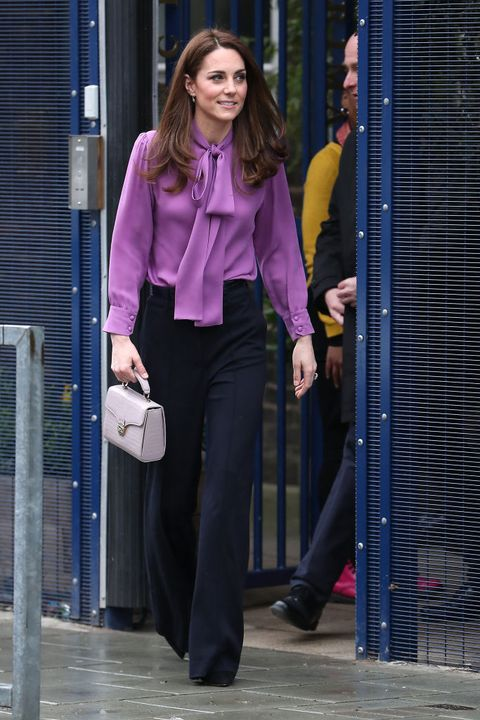 london, england   march 12 catherine, duchess of cambridge visits the henry fawcett childrens centre in kennington on march 12, 2019 in london, england photo by neil mockfordgc images