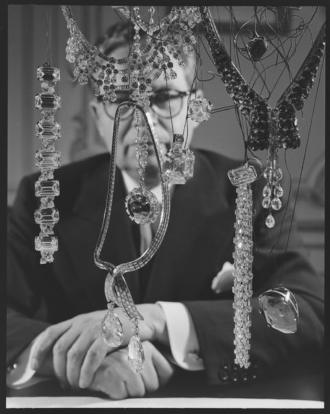 portrait of harry winston, 1952 photo by eliot elisofonthe life picture collection via getty images