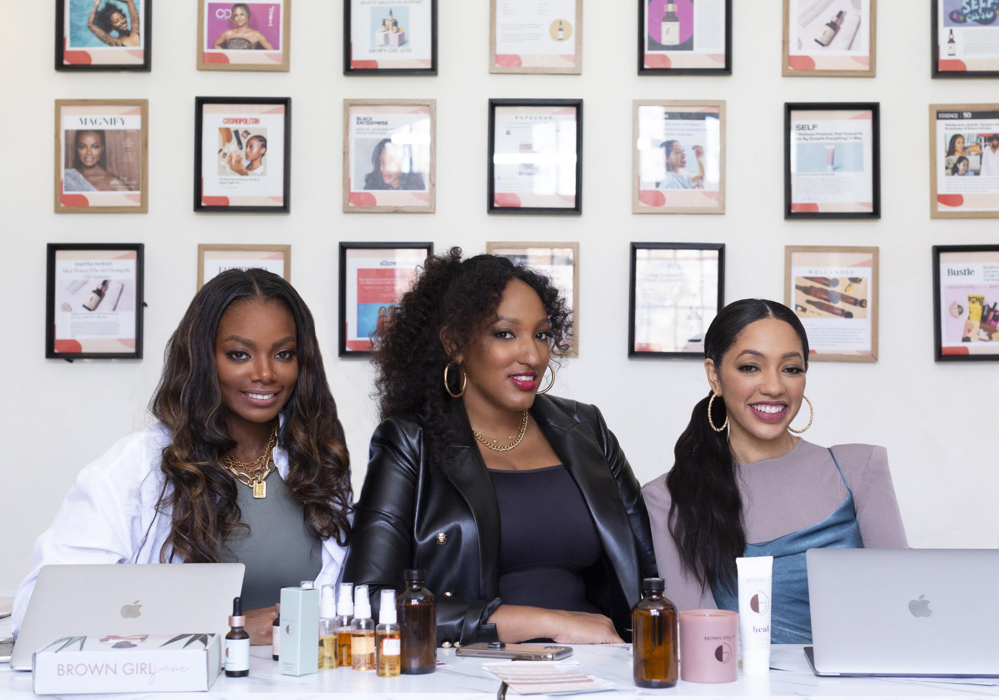 Malaika Jones, Nia Jones and Tai Beauchamp are the founders of Brown Girl Jane.