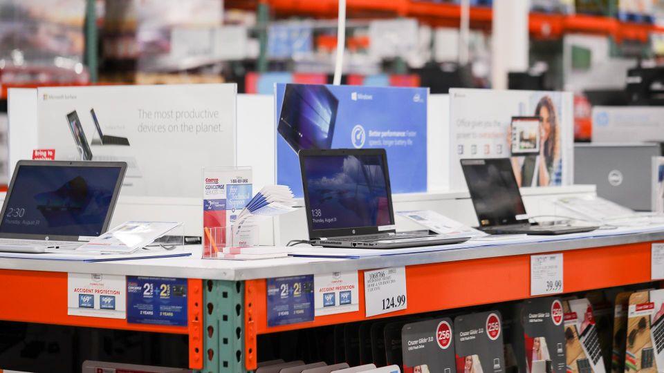costco computer aisle