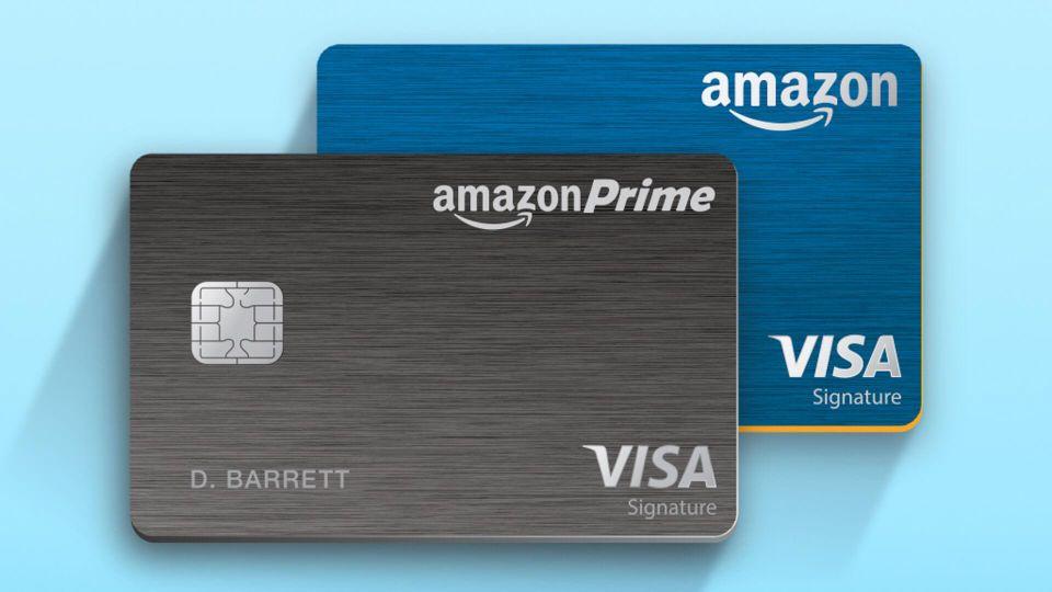 Amazon Prime Rewards Visa Card.