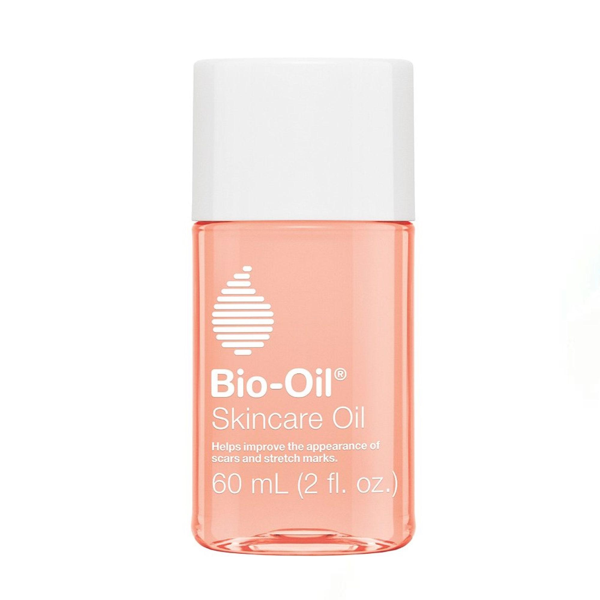 bottle of skincare oil