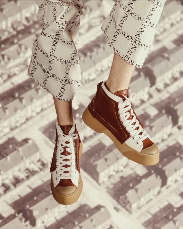 jw anderson's sneakers