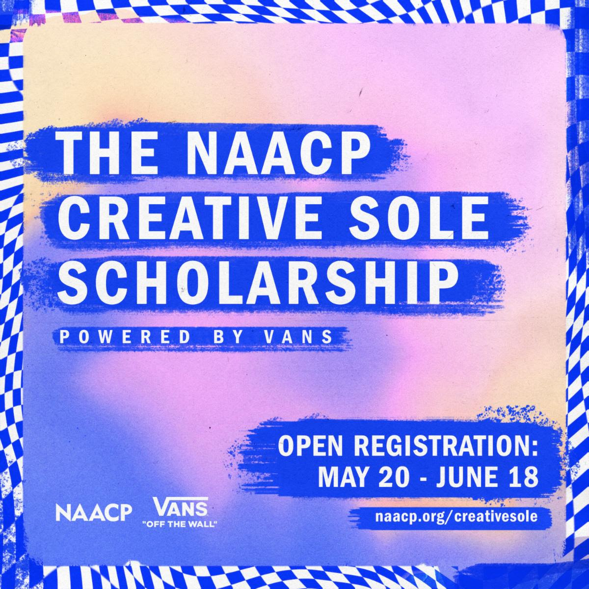 the naacp creative sole scholarship by vans
