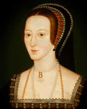 Anne Boleyn portrait by an unknown artist circa 1534.