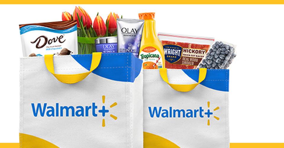 Shop Walmart Grocery through your Walmart+ account. (Photo: Walmart)