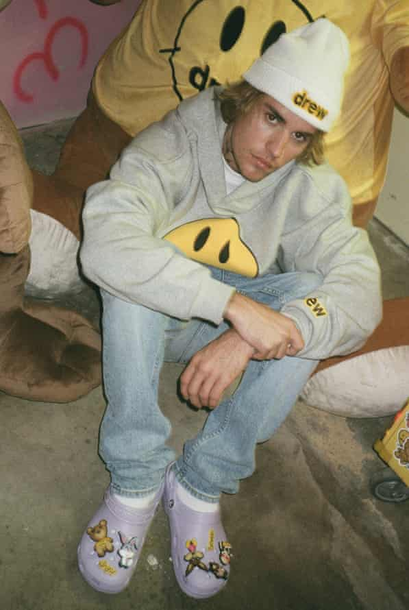 Justin Bieber's Crocs.
