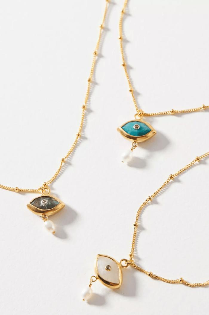 Chan Luu Spirit Eye Pendant Necklace