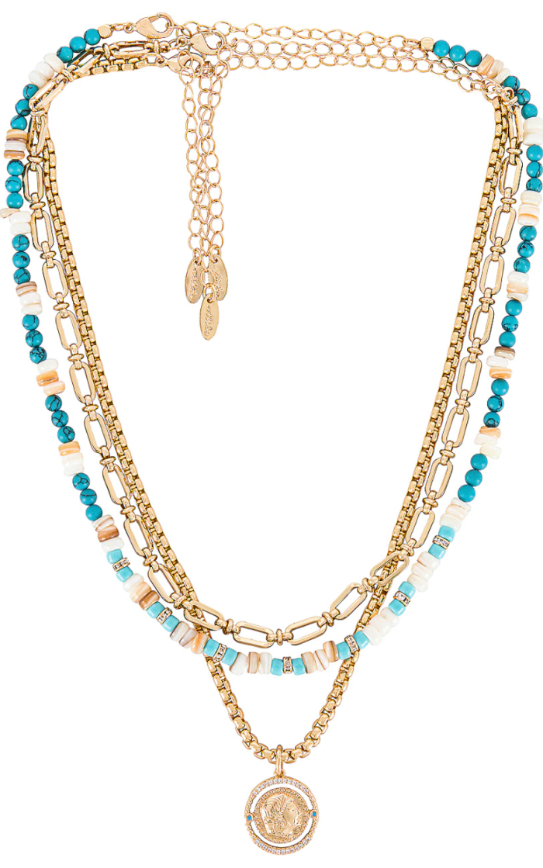 Ettika Layered Pendant Necklace