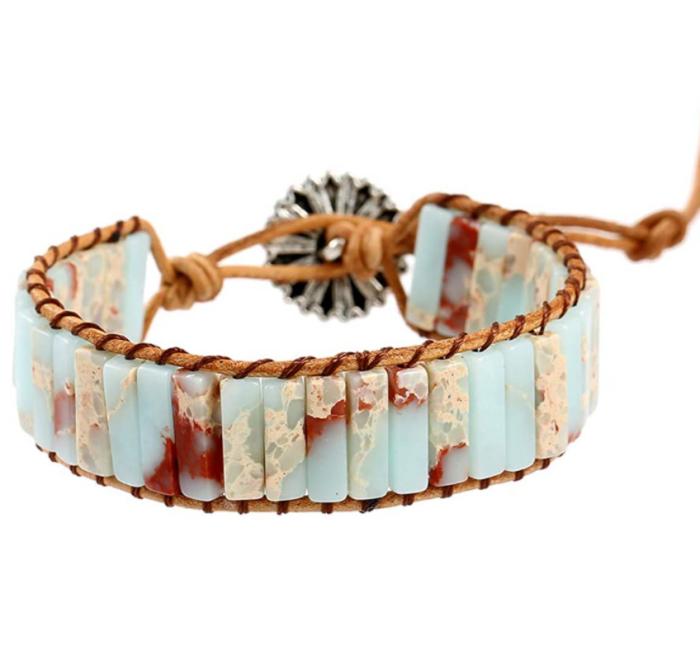Plumiss 7 Chakra Bracelets for Women