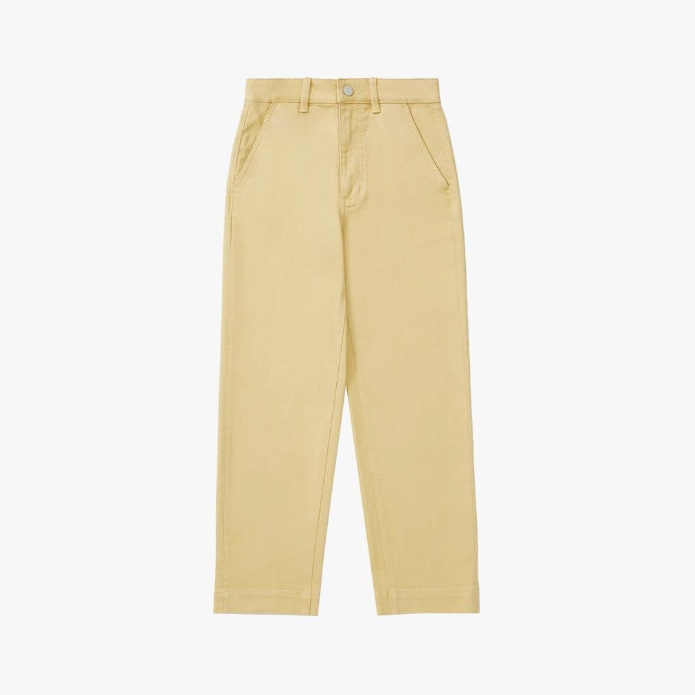 Image may contain: Clothing, Apparel, Pants, and Khaki