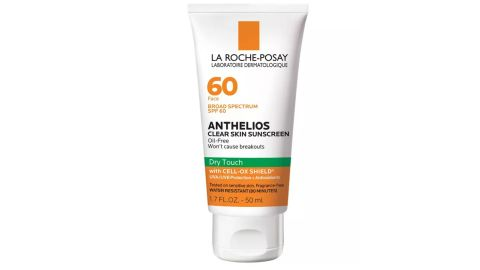La Roche-Posay Anthelios Clear Skin Dry Touch Face Sunscreen for Acne-Prone Skin