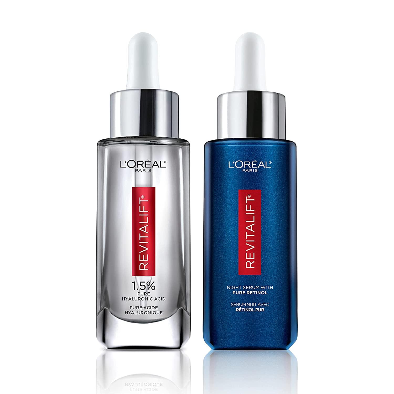 L'Oreal Paris retinol and hyaluronic acid duo