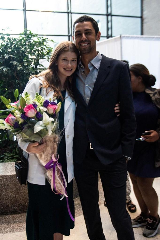 Jennifer Gates and Nayel Nassar